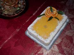 tort racoros cu portocale Cake, Desserts, Food, Pie Cake, Tailgate Desserts, Pastel, Meal, Dessert, Eten