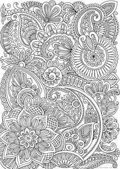 Koi Fish Discover Doodles - Printable Adult Coloring Page from Favoreads (Coloring book pages for adults and kids Coloring sheets Coloring designs) Doodles Printable Adult Coloring Page from Favoreads Pattern Coloring Pages, Mandala Coloring Pages, Free Coloring Pages, Paisley Coloring Pages, Adult Colouring Pages, Doodle Coloring, Coloring Sheets, Coloring Books, Kids Coloring