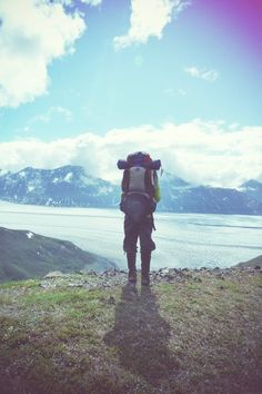 I doubt very much I could backpack the world...but can help to think it would be a most incredible experience.