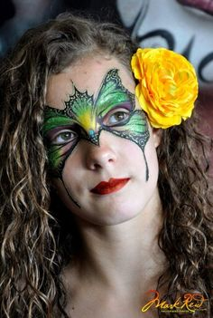 Mark Reid Face Paint Design Adult Face Painting, Fantasy Make Up, Painted Faces, Face Painting Designs, Face Paintings, Face Art, Painting Inspiration, Event Planning, Lazy