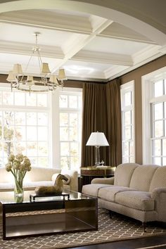 M. Frederick - Residential Interiors. Striking contrast!