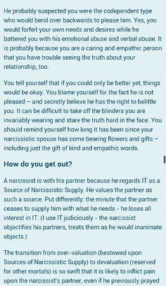 Karin's World blog Narcissistic Sociopath Part 15