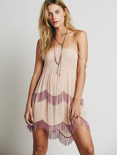 Free People Beaded Caravan Slip, $128.00