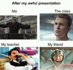 Realm of Marvel - I love you memes -You can find Funny school and more on our website.Realm of Marvel - I love you memes - Marvel Jokes, Funny Marvel Memes, Funny School Memes, Dc Memes, Avengers Memes, School Humor, Meme Meme, High School Memes, Loki Avengers