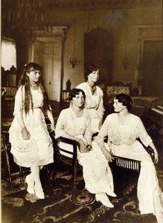 The Romanov Daughters - Olga, Tatiana, Maria, Anastasia