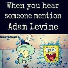 DID YOU JUST SAY ADAM LEVINE???