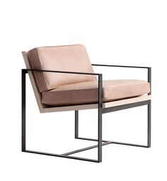 Could be nice to have a pair of something like this facing sectional in front of fireplace in FR (instead of leather chair). Manhattan Chair