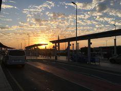 #sunset #larnacaairport