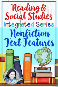 Integrate reading and social studies with this nonfiction text features resource pack. Students will learn about the nonfiction text features and integrate them into social studies topics.