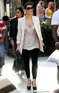 Kim Kardashian. Love her or hate her, but she has great style.