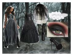 """La Llorona"" by bikergal98 on Polyvore featuring Full Tilt and lucluc"