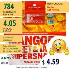 Made In Nature #MadeInNature #DriedFruit #Mango