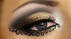 Imágenes de maquillaje árabe para Carnaval 2016