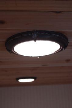 8 decorative recessed light covers