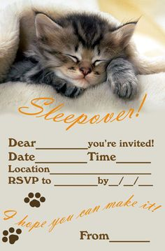 Free Birthday Printable Invitation Beautiful Invitations for Sleepover Party Slumber Party Invitations, Free Printable Party Invitations, Wedding Party Invites, Birthday Invitation Templates, Free Printables, Birthday Template, Unicorn Invitations, Unique Invitations, Invitation Ideas
