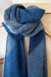 Traverso Due -  free knit pattern by Regina Moessmer