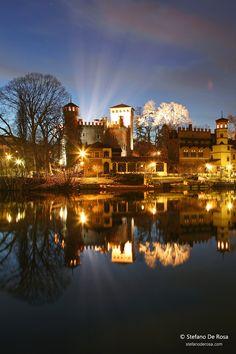Borgo medievale di Torino al crepuscolo IMG_8719