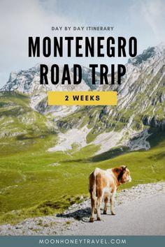 Montenegro Road Trip - 2 Week Montenegro Itinerary #montenegro #montenegrotravel #balkans #balkanstravel #europetravel #europeroadtrip #europetravelitinerary #itinerary #roadtrip #durmitor #prokletije #budva #kotor #bayofkotor #ulcinj #easterneurope #dinaricalps #adriaticsea #budvariviera
