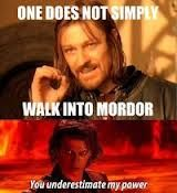 one does not simply meme - Google leit