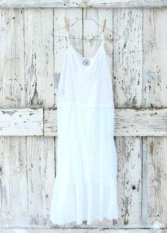 Snow White So White Sundress  upcycled romantic by wearlovenow, $42.99