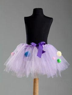 Confetti Lavender Purple Tutu