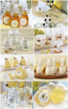 Bee Baby Shower Party Favors from HotRef.com