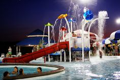 A watery playground at Cape Girardeau's Cape Splash by Hummie~, via Flickr