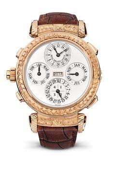 Patek Philippe Grandmaster Chime Ref. 5175 Wristwatch calendar side #patek175 #anniversary Perpetuelle.com