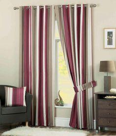 laura ashley stripe curtains