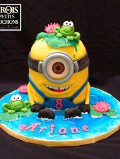 christmas Minion Cakes | Minion Cake