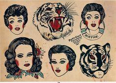 eq-ui-nox:  Tattoo-Jack, Copenhagen, Denmark, 1951  © The Amsterdam Tattoo Museum, Amsterdam