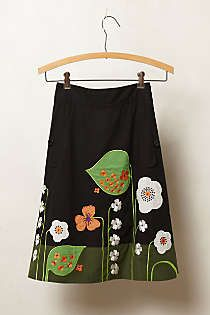 Anthropologie - Archival Collection: Vine Skirt