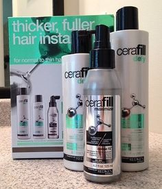 Redken Cerafil Thicker, Fuller hair instantly - Reviewed great at apothecary