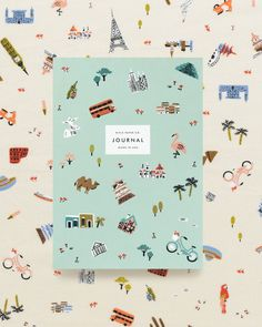 """11k Likes, 74 Comments - Rifle Paper Co. (@riflepaperco) on Instagram: """"For the globe-trotters  daydreamers  and jetsetters ✈️ Our Wanderlust Journal is the perfect…"""""""