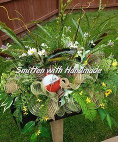 Grave Flowers, Cemetery Flowers, Funeral Flowers, Casket Flowers, Cemetery Vases, Cemetery Decorations, Wooden Planter Boxes, Deco Mesh Ribbon, Memorial Flowers