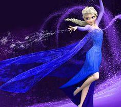 Hola!!! Aquí está Elsa Frozen disney