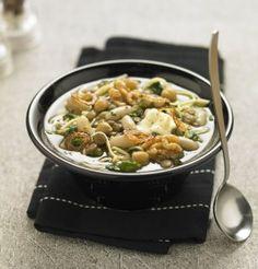 Soupe réconfortante façon minestrone / Comforting soup way minestrone
