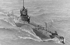 US Submarine K-5 in 1919. For a period of time submarine were only identified by a group of numbers and letters.