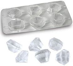 Jewel ice cube tray, $6. I have these. I have a bit of an obsession with ice cube molds actually.