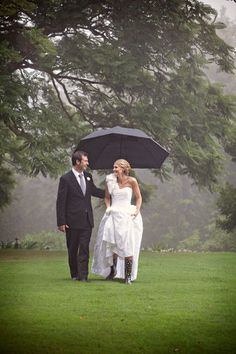 Wedding in the Rain / Rain Don't Go Away…It Will Be OK « Wedding Trends 2014, Wedding Inspiration Blog – David Tutera's It's a Bride's Life