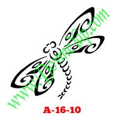 Yusufcuk Geçici Dövme Şablon Örneği Model No: A-16-10