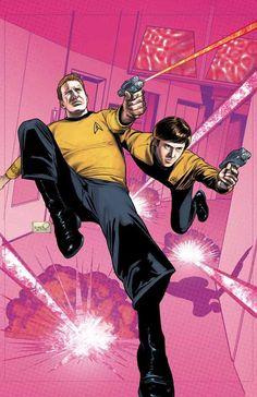 Star Trek : TEE 2 Cover Art by sharpbrothers on deviantART