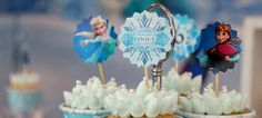 Frozen Inspired Birthday Party {Decor, Ideas, Planning, Styling}