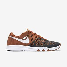 buy popular 17de7 1845d Texas Longhorns Nike Train Speed 4 Amp Men s Training Shoe