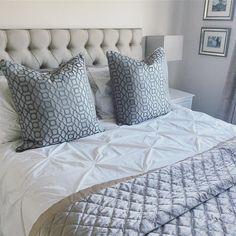 New cushions 😍😍 Sweet Home, Cushions, Decor Ideas, Interior Design, Bed, Instagram, Home Decor, Throw Pillows, Nest Design