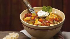 Soupe d'hiver aux lentilles | Recettes IGA | Légumineuses, Tomates, Recette facile