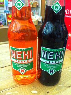 Nehi Grape Nehi Peach
