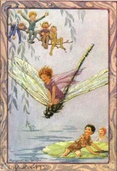 'Dragon-Fly'  by Margaret Tarrant (1888-1959)