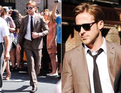 more ryan gosling awesomeness...that is how you mix black + brown