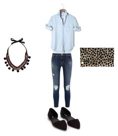 """""""Untitled #194"""" by kaittd on Polyvore featuring J Brand, Nly Shoes, River Island and Clare V."""